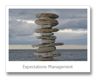 Who wants what: Expectations Management
